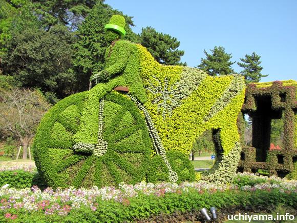 緑の風の自転車