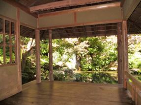 浜松城公園日本庭園・東屋