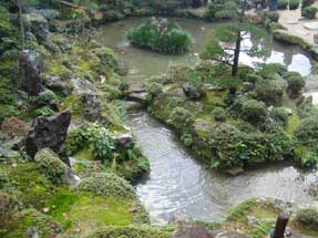 西明寺・蓬莱庭