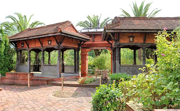 ネパール庭園