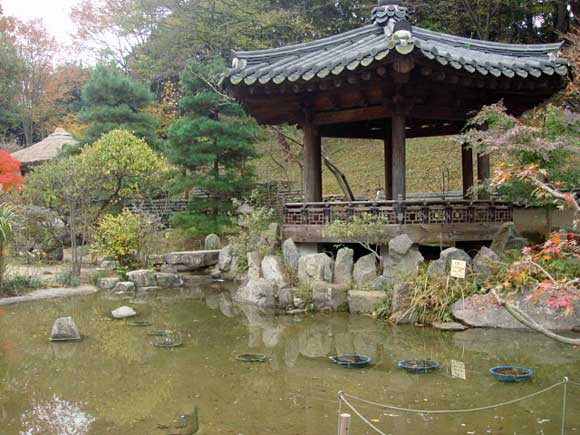 コリア庭園