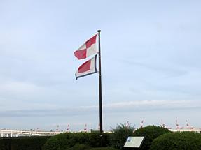 港の見える丘公園・コクリコ坂からの舞台