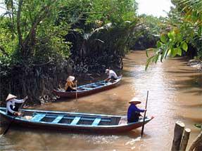 ベトナム・水路