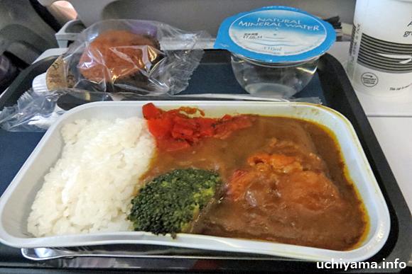 ブリティッシュ・エアウェイズ機内食