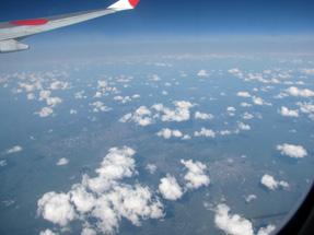 機外の景観
