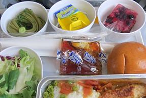 ルフトハンザ航空機内食
