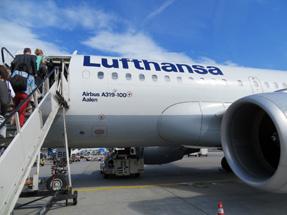 ルフトハンザドイツ航空機