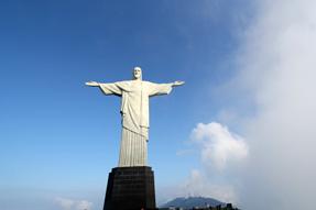 リオネジャネイロ・コルコバードのキリスト像