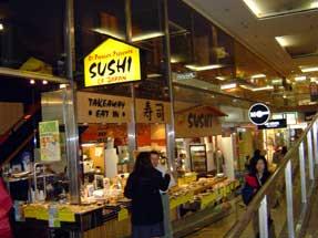 オークランド・寿司店