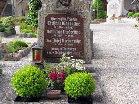 ザンクト・ギルゲンの墓地