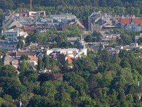 カーレンベルクからウィーン遠望