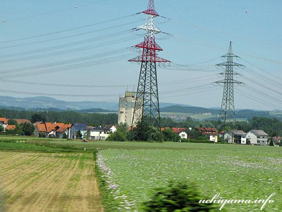 ウィーンへの道風景