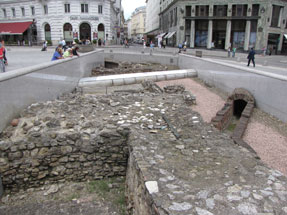 ホーフブルク・ローマ遺跡