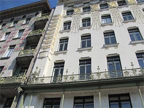 ウィーンの街角
