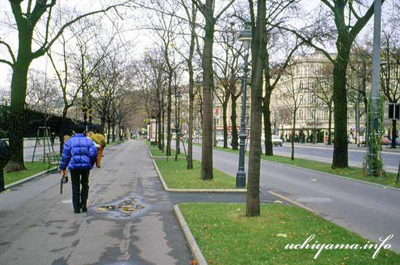 ウィーンの道