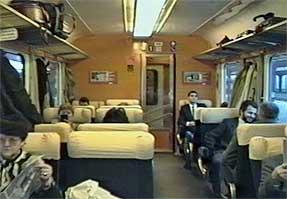 乗車した列車