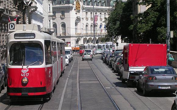 ウィーンのトラム