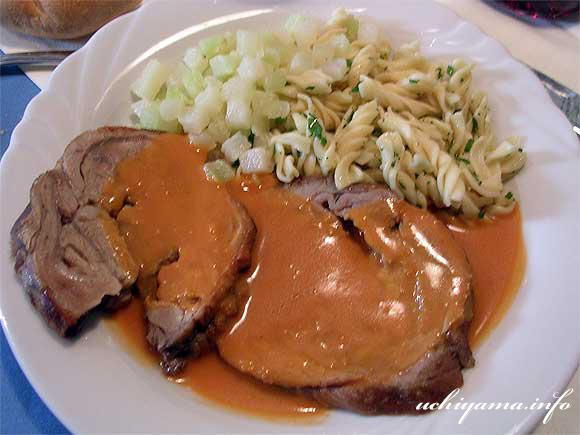 ロースト豚肉