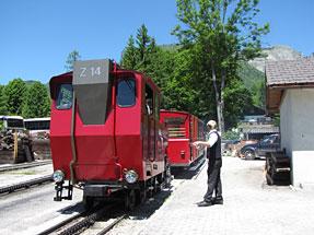 登山鉄道・湖岸駅