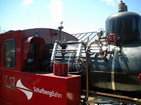 シャーフベルク登山鉄道・SL車