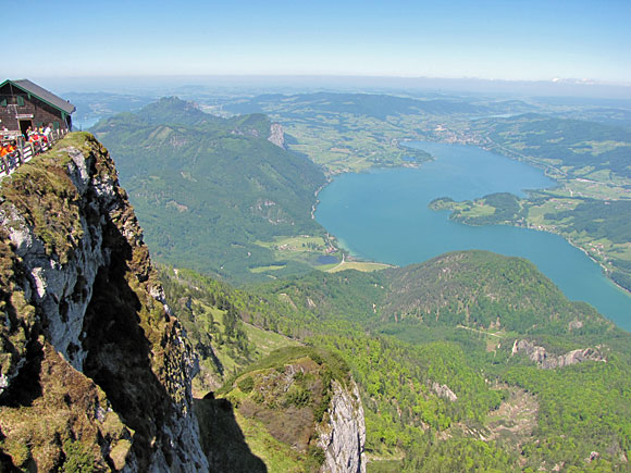 シャーフベルク山頂