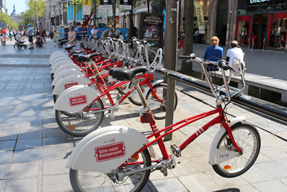 アントワープ・レンタル自転車