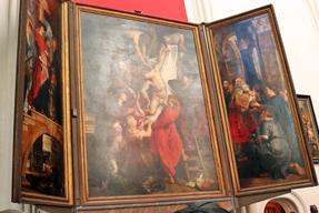 ノートルダム大聖堂・キリスト降架