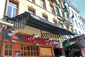 アントワープ・レストラン「BIER CENTRAL」