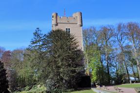 グランビガール城の塔