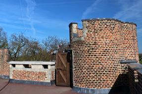 グランビガール城の塔・屋上