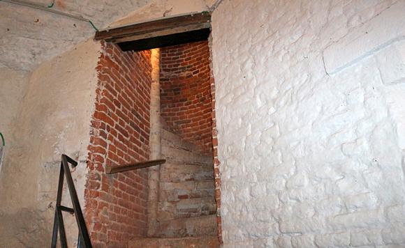 グランビガール城の塔内