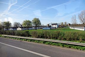 ブルージュ〜ブリュッセルの道風景
