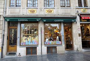 チョコレート・ゴディバ(ブリュッセル グランプラス店)