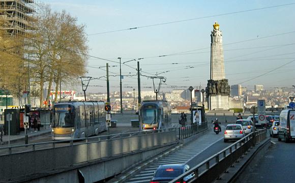 ブリュッセル市街