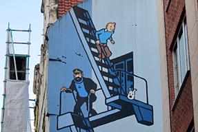 タンタンの壁画