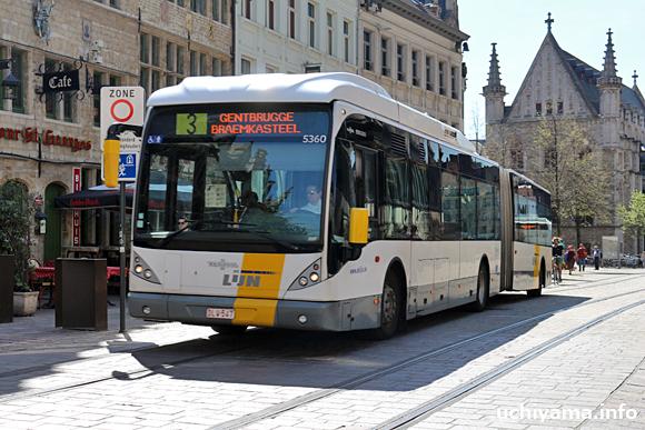 ゲント・連節バス