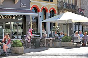 ゲント・オープンカフェ