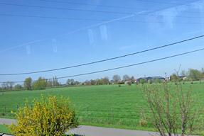 ゲント〜ブルージュの道風景