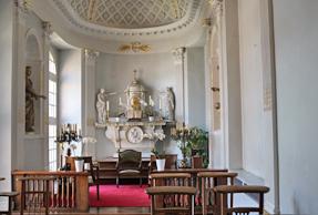 モダーヴ城・礼拝所