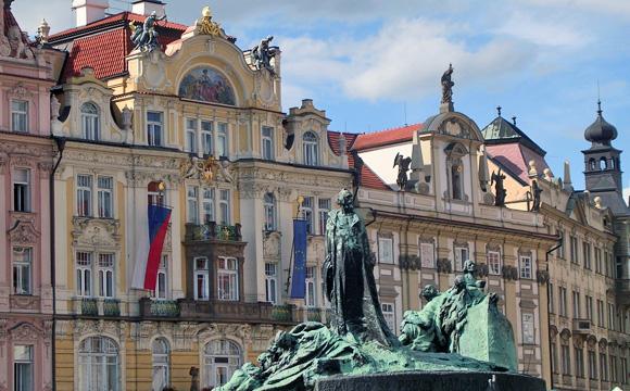 プラハ旧市街広場
