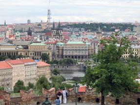 プラハ遠景