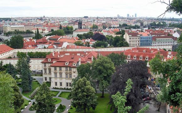 プラハ市街