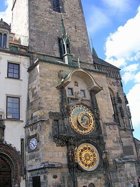 プラハ旧市庁舎・天文時計