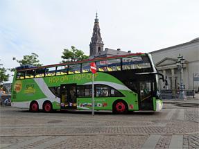 コペンハーゲンのバス