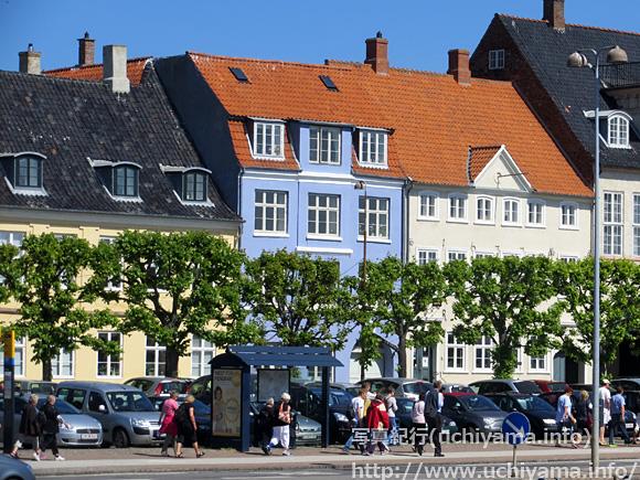コペンハーゲンの家並み