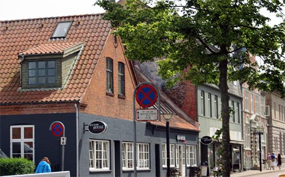 コペンハーゲンの民家