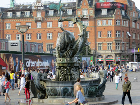 コペンハーゲン市街