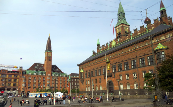 コペンハーゲン市庁舎
