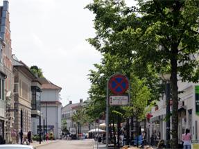 コペンハーゲンの通り
