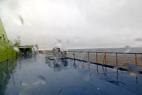 タリン港からヘルシンキ港への船旅